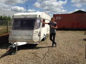Frederik Leth caravan downhill