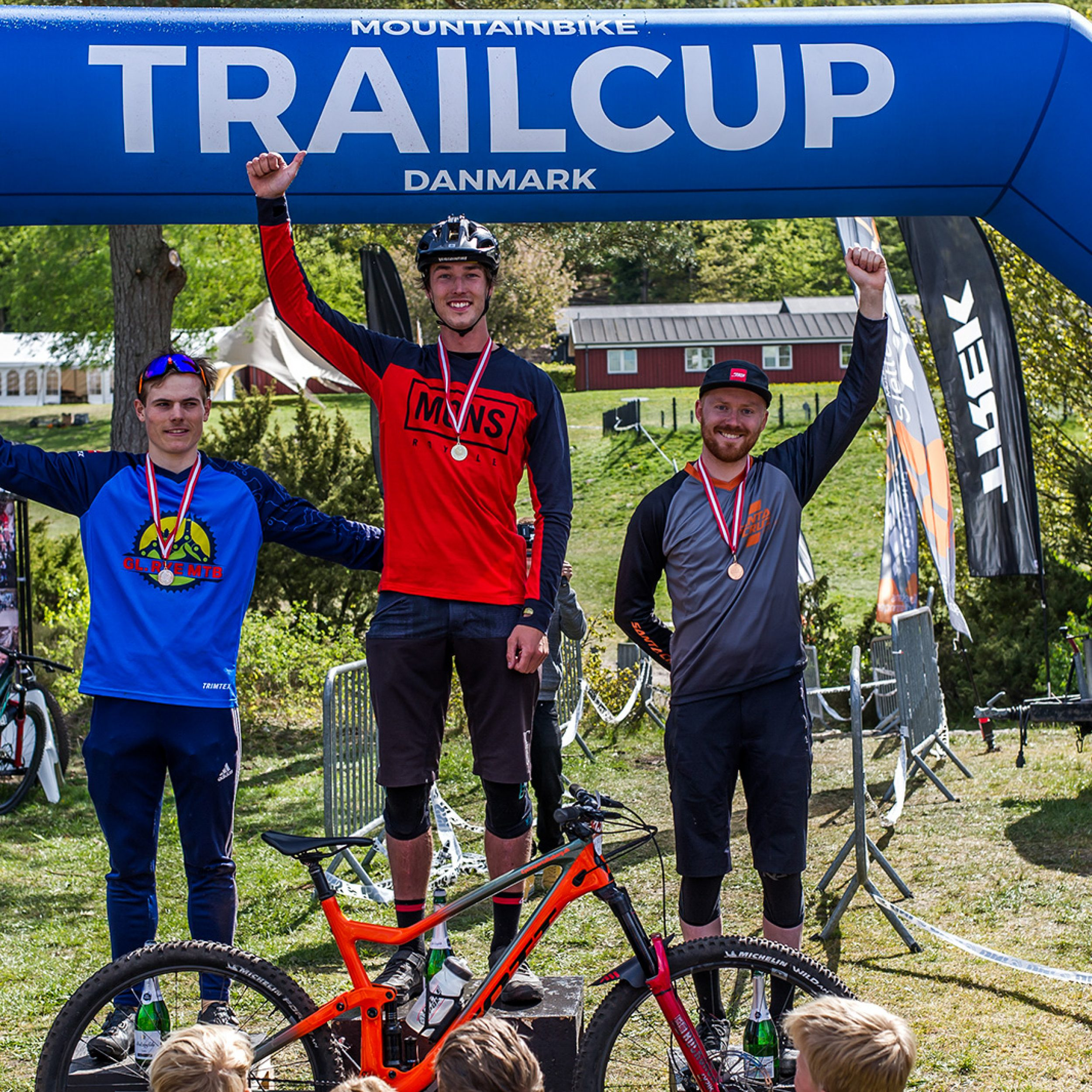 1st place at the mountainbike trailcup 2019 at Himmelbjerget.